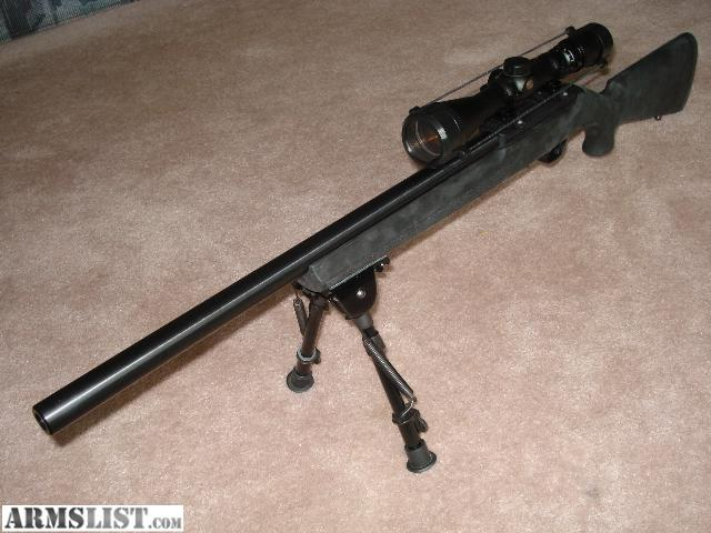Barrel mounted on gun gun or optics are not included just the barrel