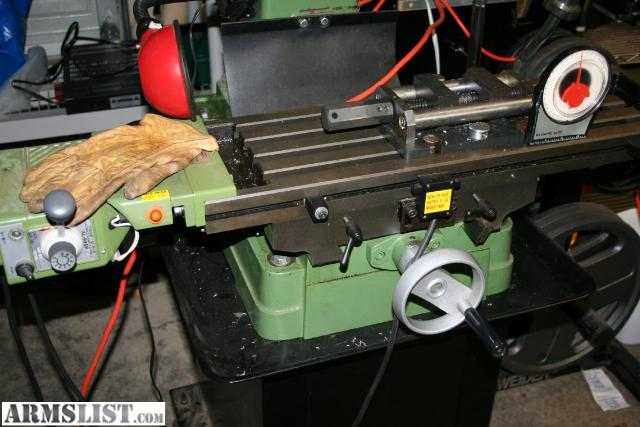 central machinery milling machine