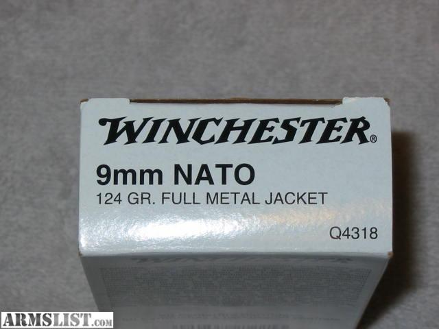 9mm Round Rounds Winchester 9mm Nato