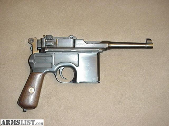 Mauser Bolo Broom Handle For Sale http://www.armslist.com/posts/49193/washington-handguns-for-sale--ww-ii-mauser-broom-handle-bolo
