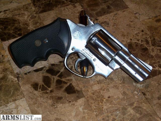 For Sale/Trade: Nice Rossi stainless 38 Special snub-nosed revolver