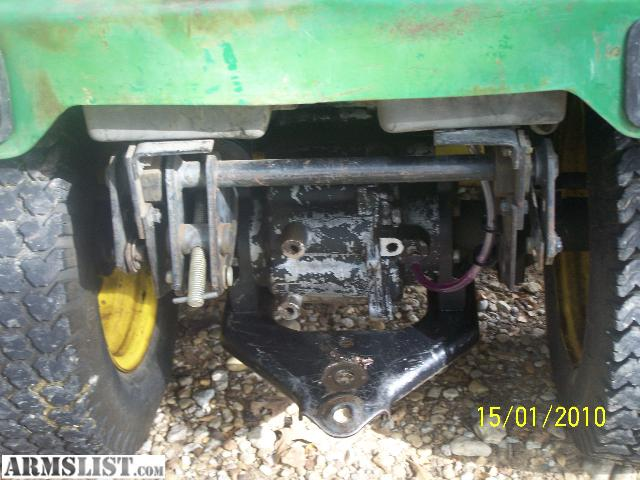 Lawn Tractor With Rear Pto : Armslist for sale john deere garden tractor