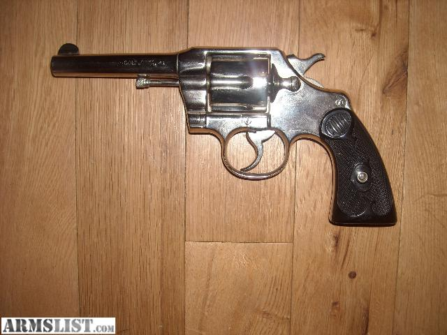 ARMSLIST For Sale Colt 41 Cal Army Special