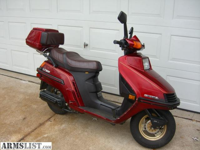 Armslist For Sale Honda Elite 250 Scooter 1985 815 Miles