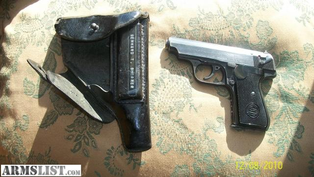 Sauer 38H for Sale http://www.armslist.com/posts/77454/cincinnati-ohio-antiques-for-sale--wwii-sauer-38h