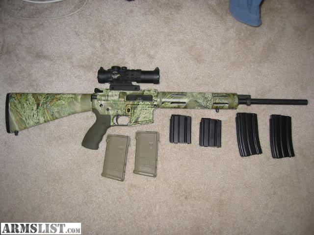 Bolt action 308, 260 Rem, or 7mm-08 rifle with optics, PSL-54C or ...