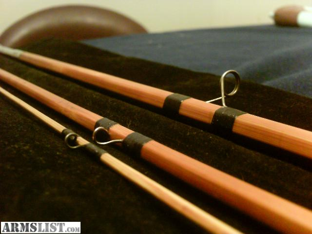Armslist for sale trade bamboo fly rod for Fly fishing rods for sale