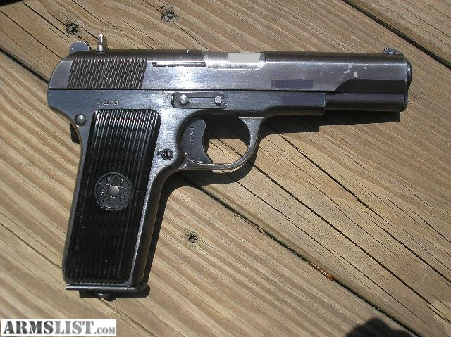 For Sale: WTS Yugo Tokarev M57 7.62 x 25