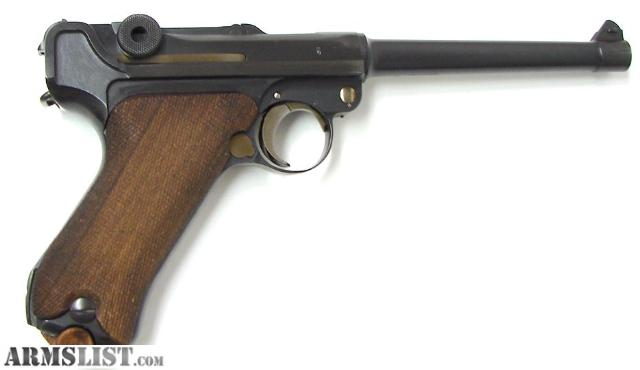Luger Navy Model http://www.armslist.com/posts/148401/wichita-kansas-handguns-for-sale--1916-luger-navy