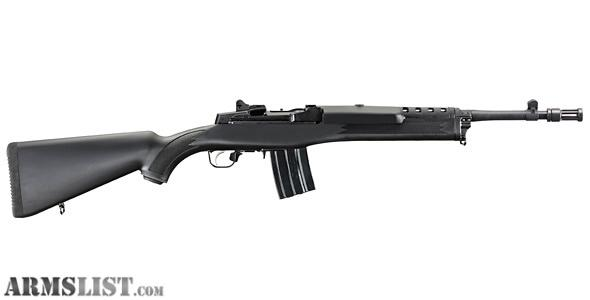 Armslist for sale ruger mini 30 tactical