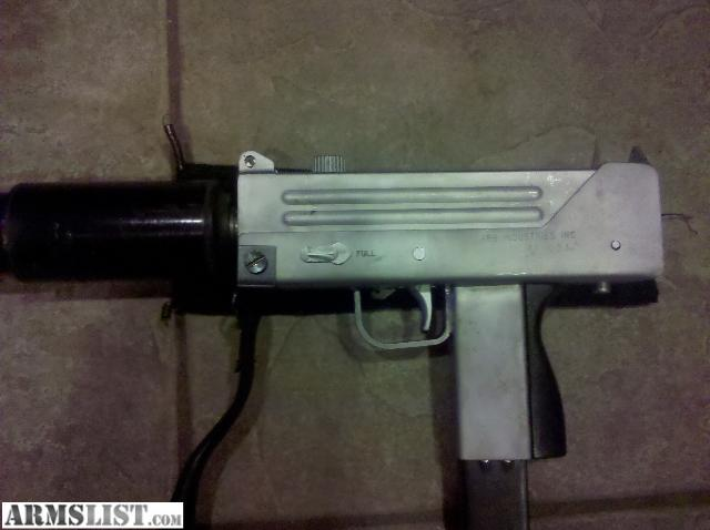 ARMSLIST - For Sale: SOLD:Mac-10 9mm Select Fire Machine ...
