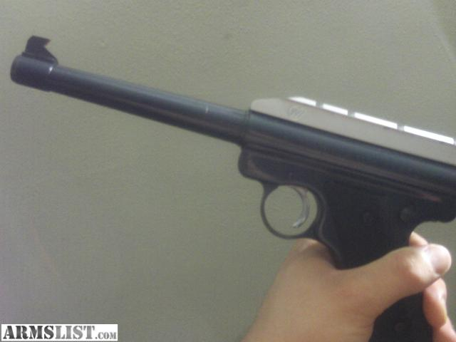For Sale: Ruger Mark 1 made in 1978 excellent condition