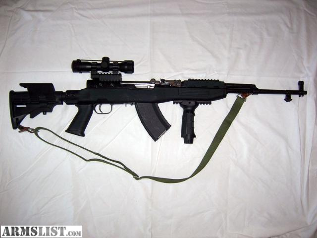 Custom Sks Rifle