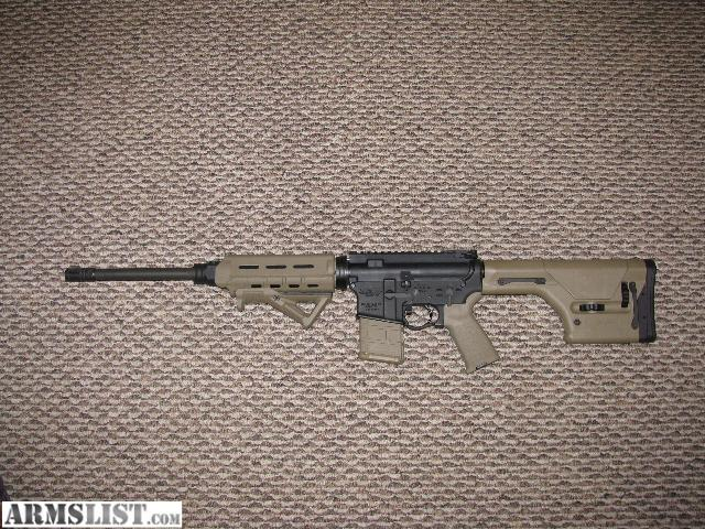 ARMSLIST For Sale AR 15 With Magpul Furniture