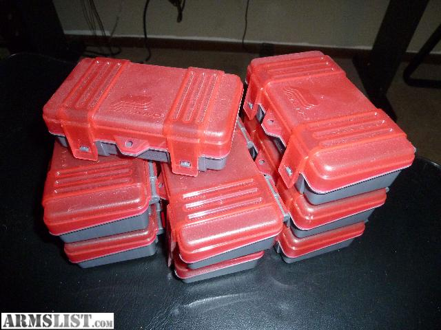 For Sale: AMMO STORAGE boxes 9mm/380