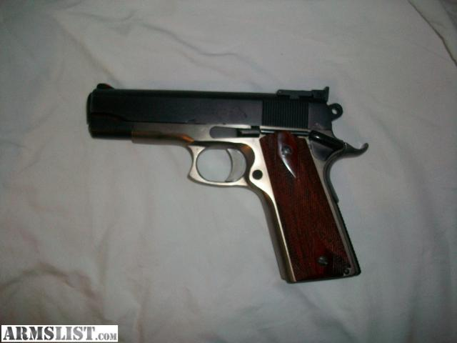 1911 Colt 45 Commander http://www.armslist.com/posts/228321/denver-colorado-handguns-for-sale-trade--1911-colt-commander-45-auto