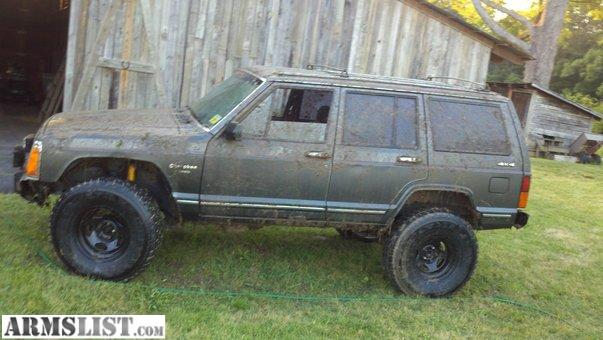 armslist for sale lifted on 33s 1988 jeep cherokee w new motor. Cars Review. Best American Auto & Cars Review