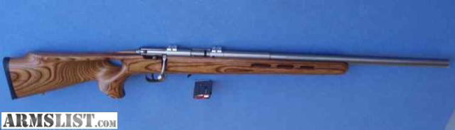 For Sale: 22 WMR MAGNUM Stainless Rifle with Thumbhole stock