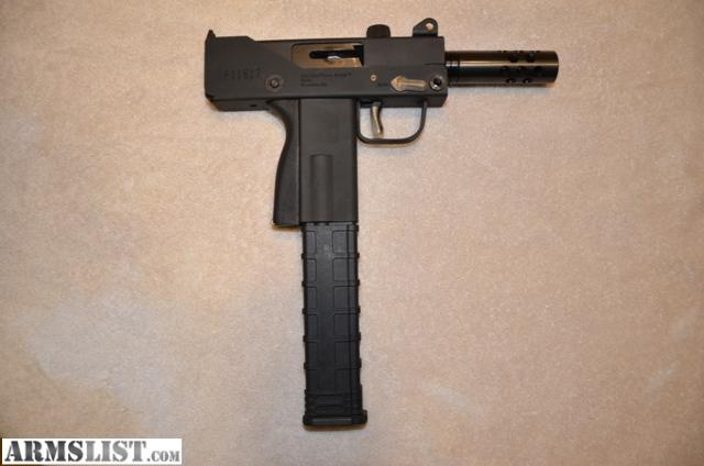 ARMSLIST - For Sale: MasterPiece Arms 9mm Mac 10