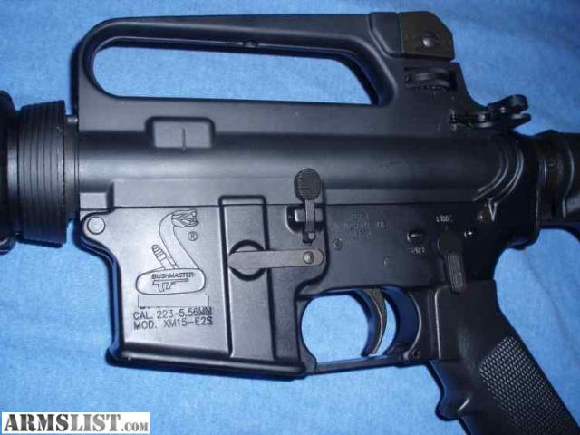 For Sale: COMPLETE Bushmaster 5.56 .223 Rifle