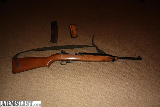 M1 Carbine for Sale http://www.armslist.com/posts/253801/tulsa-oklahoma-rifles-for-sale--m1-carbine--plainfield