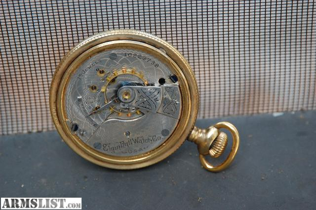 Elgin Pocket Watches For Sale