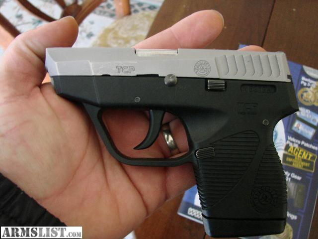 For Sale: Taurus TCP .380 ACP PT 738 model 2 tone look