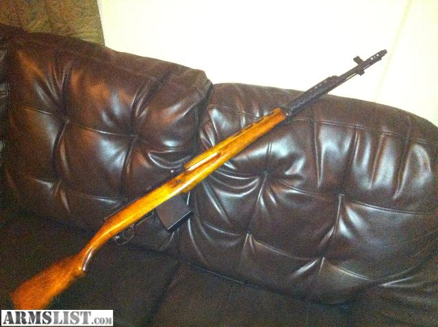 For Sale/Trade: 1944 russian svt 40 in good shape
