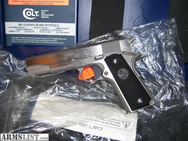 Armslist For Sale Colt Stainless 38 Super