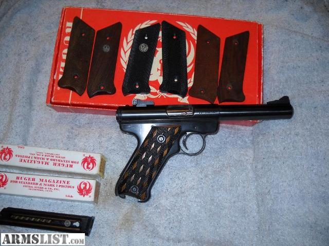 For Sale: Ruger Mark I Bull Nose target pistol