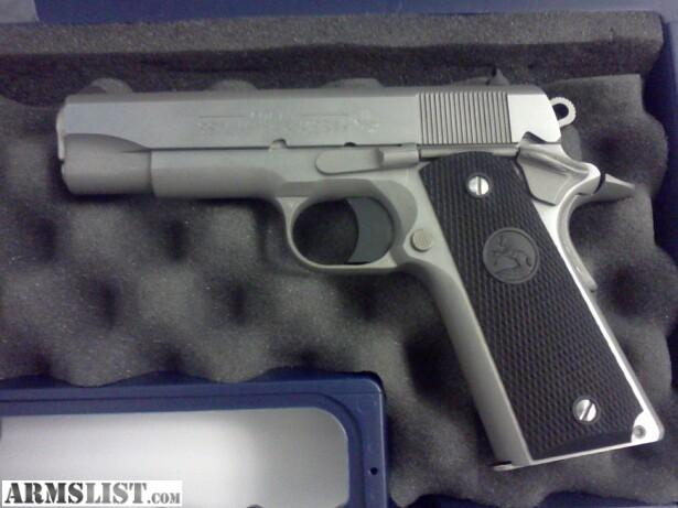 1911 Colt 45 Commander http://armslist.com/posts/286012/tampa-handguns-for-sale-trade--colt-1911-commander--45-series-80