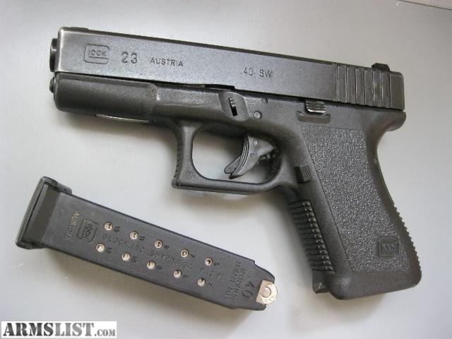 how to hold a glock 23