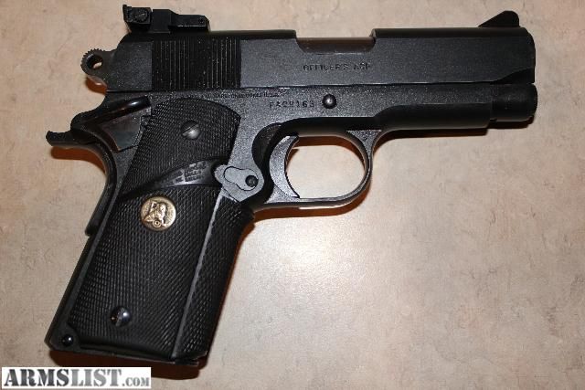 Colt Officer 45 http://www.armslist.com/posts/293140/dayton-ohio-handguns-for-sale--colt-officer-model-1911--45acp