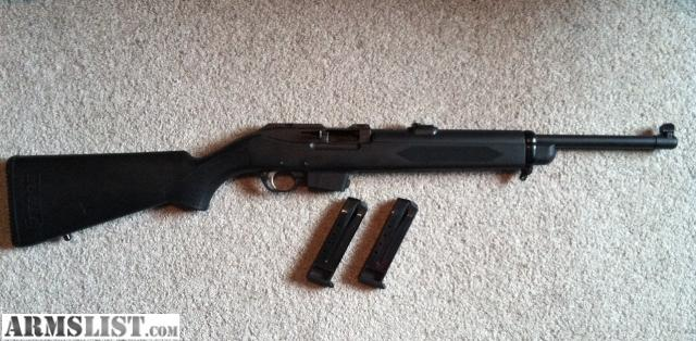 Ruger 9mm Rifle Carbine For Sale