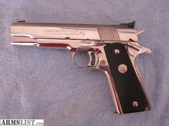 For Sale/Trade: Colt Gold Cup National Match Series 80 MKIV