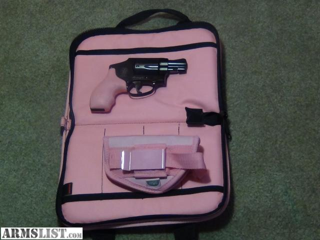 Smith and Wesson Pink Lady