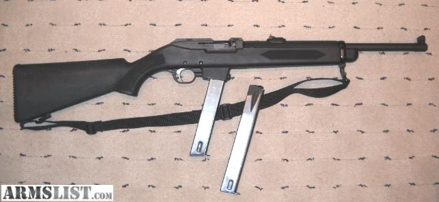 ARMSLIST - For Sale: Ruger PC9 Police Carbine Rifle 9mm ...