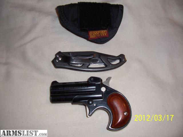Derringer Holsters For Sale 22 lr Derringer W/holster