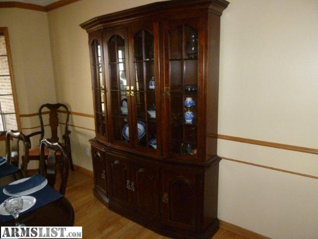 Armslist For Sale Trade Pennsylvania House Dark Cherry Dining Room Set And China Cabinet