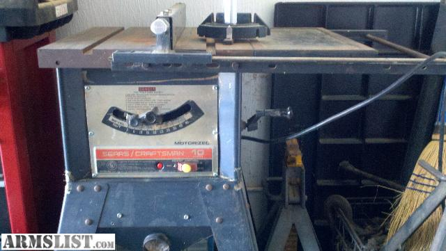 Armslist for sale 10 inch craftsman table saw for 10 inch table saws for sale