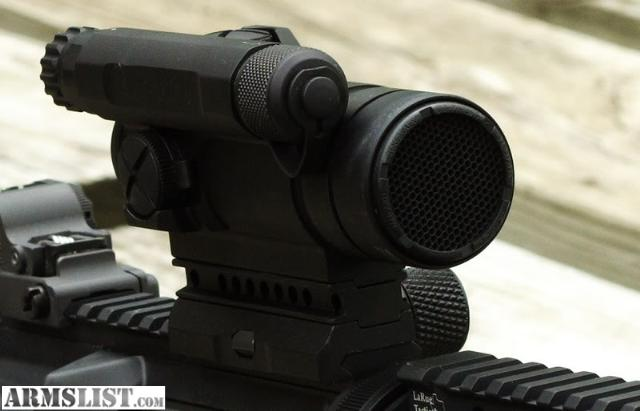 ARMSLIST - For Sale: AIMPOINT COMPM4 M68 CCO 2 MOA red dot