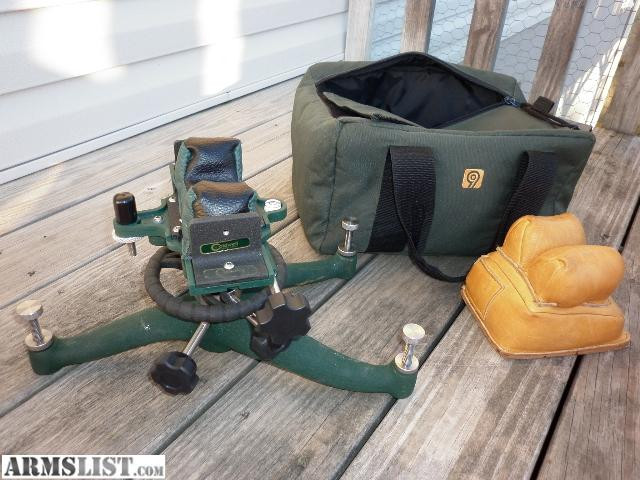 Armslist For Sale Trade Caldwell Benchrest Rock And Protector Rear Bag With Carring Bag