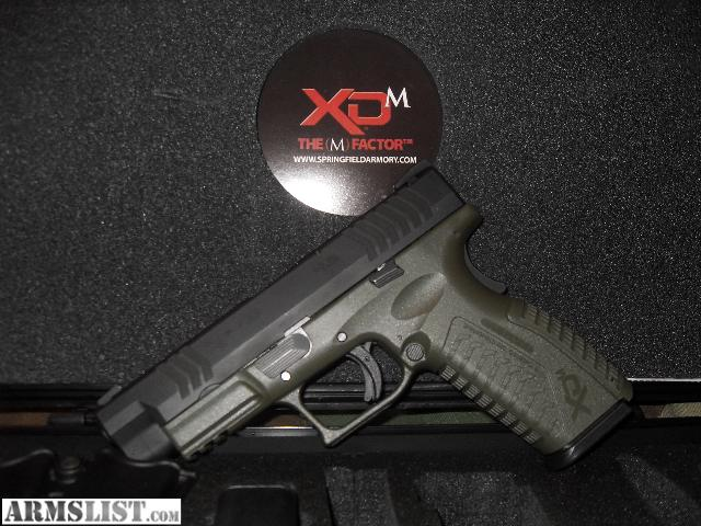 Springfield Xdm 45 Acp 45 Inch Barrel Black Finish Tritium Night
