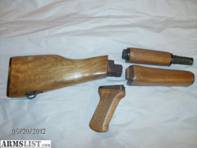 armslist for sale ak 47 wood furniture stock grip