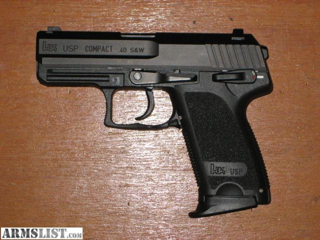 ARMSLIST - For Sale/Trade: HK USP Compact .40!