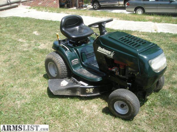 Tractor Bolens Riding Lawn Mowers Pictures To Pin On