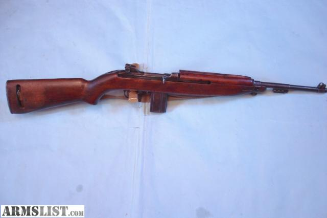 M1 Carbine for Sale http://www.armslist.com/posts/473770/maryland-rifles-for-sale--winchester-us-m1-carbine