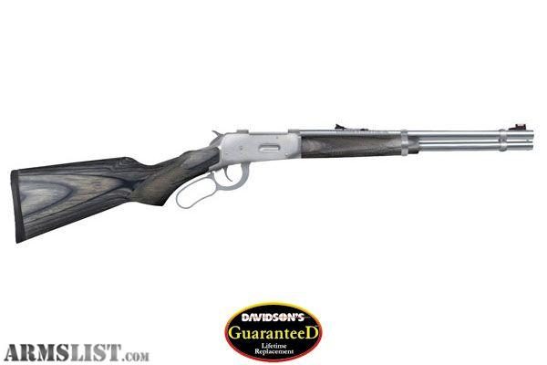 30 30 Rifle http://www.armslist.com/posts/485662/springfield-missouri-rifles-for-sale--mossberg-464--30-30-ss-marinecote-16-25--barrel-new-in-box