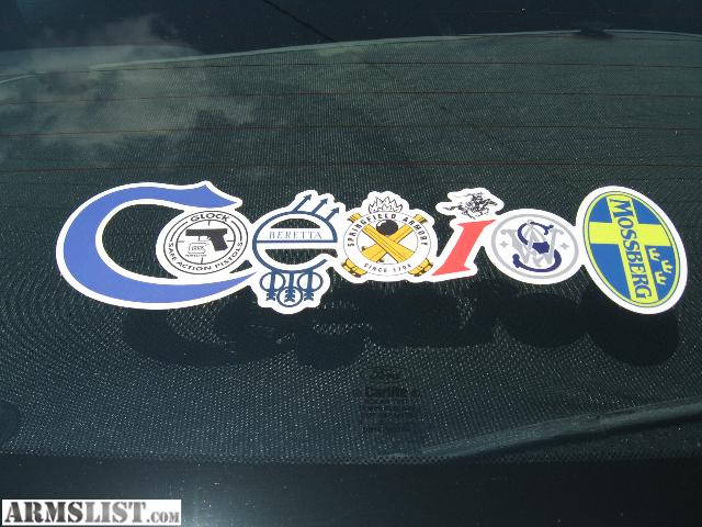 Armslist For Sale Coexist Bumper Sticker Colt Glock
