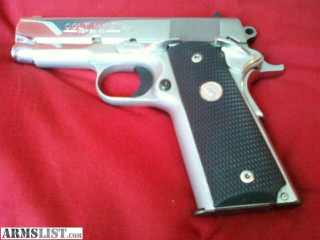 Colt Officer 45 http://www.armslist.com/posts/517244/louisville-kentucky-handguns-for-sale--colt-officers-edition--45-acp-markiv-series-80-polished-s-s
